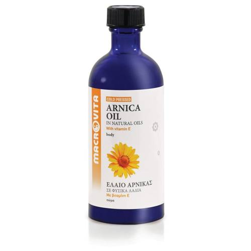 MACROVITA OLEJ Z ARNIKI GÓRSKIEJ w naturalnych olejach tłoczony na zimno z witaminą E 100ml