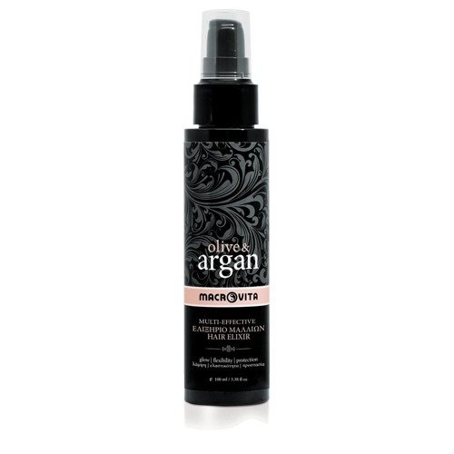 MACROVITA OLIVE & ARGAN MULTI-EFFECTIVE HAIR ELIXIR eliksir do włosów z olejkiem arganowym 100ml